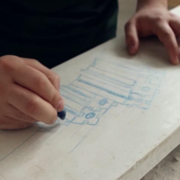 Prodotto personalizzato . Lavorazione del marmo personalizzata. Lavorazione pietra naturale. Lavorazione granito. Lavorazione su misura. Prodotti di design.